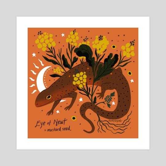 Witch's Brew: Eye of Newt by Reimena Yee