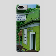 Weaver D's - Athens - Phone Case by James Burns