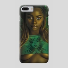 Gold and Green - Phone Case by Andy Art