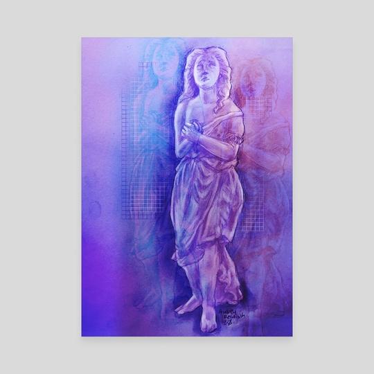 Vaporwave Goddess by Audrey Reslink