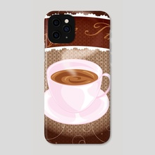 Coffee Time - Phone Case by Allison Lythgoe