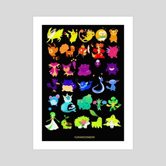 pokemon (black) by Yura Moonbow