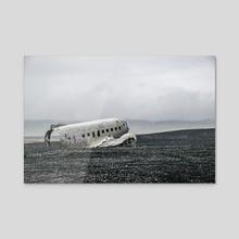 Phantom Flight - Acrylic by Alex Tonetti