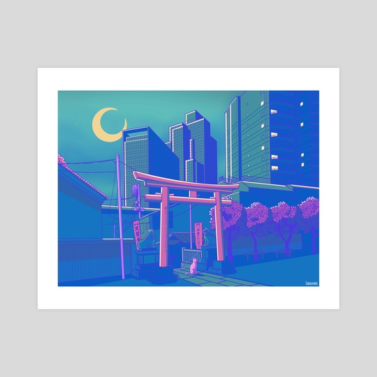 Neon Moon by Denise Suru