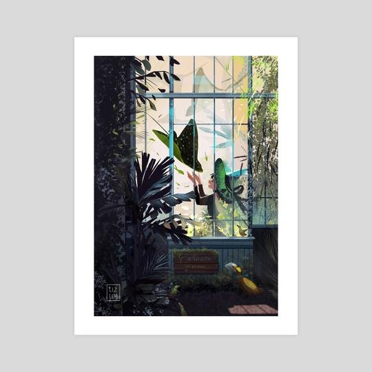 The Witch's Greenhouse by Liz Lim