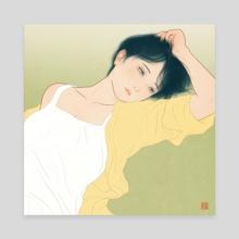 Shiho - Canvas by Sai Tamiya
