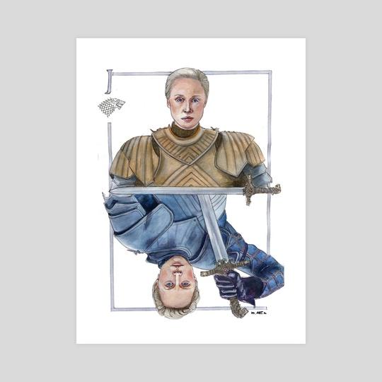 Ser Brienne of Tarth by Marta  Dasic