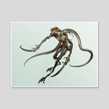 Creature - foglmunt B - Acrylic by Jaemin Kim