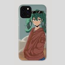 Sand Planet Miku - Phone Case by The Qoqo