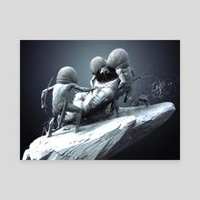 Help - Canvas by Svjeeta