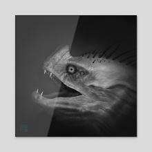I See You - Acrylic by Alejandro Diaz
