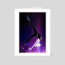 Spider Gwen - Art Card by Katherine Lobo