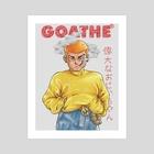 GOATHE POSTER 3 - Art Print by GOATHE