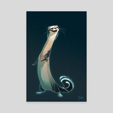Ferret Style - Canvas by Lorene BARIOZ