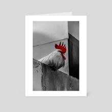 Rooster  - Art Card by Anicha