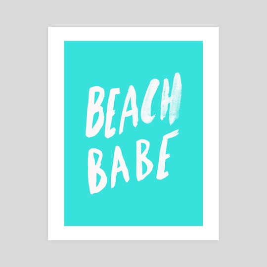 Beach Babe by Leah Flores