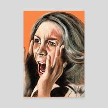 Halloween - Canvas by Chantal Handley