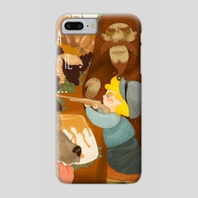don't play with your food - Phone Case by Sara Pilloni
