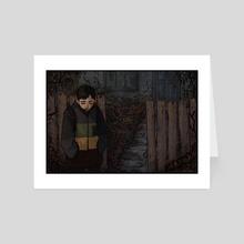 monster calls - Art Card by B. Moh