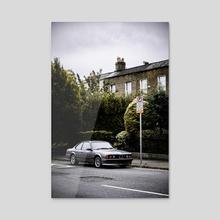 BMW Love - Acrylic by Achintay Priya Narayan Joshi