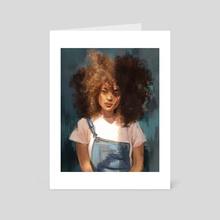 Quiet Sunlight - Art Card by Talia Skyles