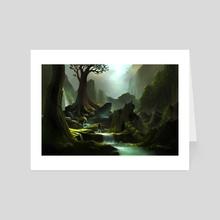 Exploring - Art Card by Hanson Weng