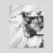 """Ornate Camel - Canvas by Dana """"Tsuki"""" Cecile"""