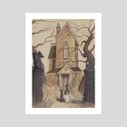 The Silent House - Art Print by Rudy Faber