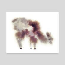 Alpaca II - Canvas by Faryn Hughes