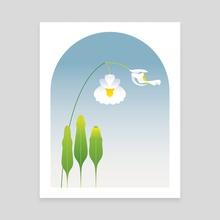 Utricularia alpina - Canvas by Koo