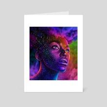 Constellation Girl  - Art Card by Morgan Davidson