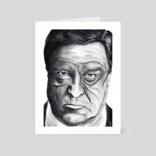 John Goodman - Art Card by Etienne Pascal