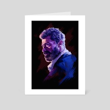 Logan - Art Card by Vladislav Trotsenko