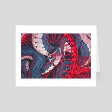 Ouroboros  - Art Card by Chun Lo