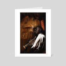 Jazz - Art Card by Tony Seunghoon Yeom