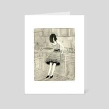 The Masochist - Art Card by Jensine Eckwall