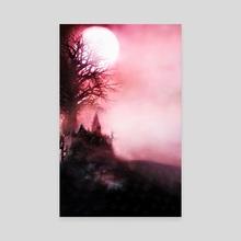 Bloodborne *Hunter's Dream* - Canvas by SucculentBurger