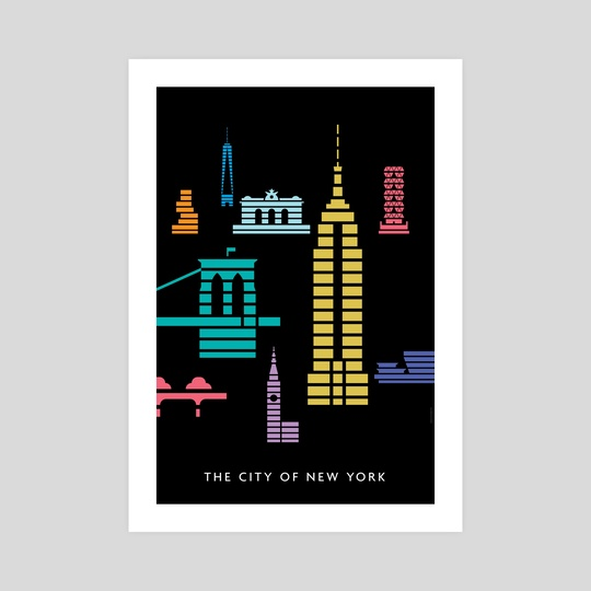 The City of New York: Empire State Building by Christopher Dina