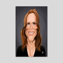 Julianne Moore - Canvas by Rob Snow