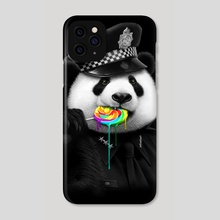 LOLLY POP COP - Phone Case by ADAM LAWLESS
