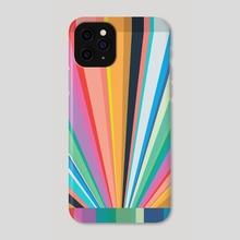 Rainbow Vortex #1 - Phone Case by Andrew  Haan