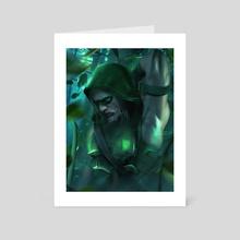 Green Arrow  - Art Card by Kode Subject