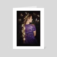 Rapunzel iii - Art Card by RhiI Photography