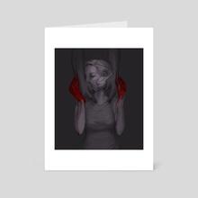 bonnalise, held - Art Card by Harriet Moulton