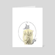 Virgo - Art Card by Justin Bysma