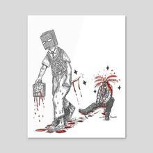Traitor - Acrylic by Jay Wynn