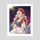 Cloudscape - Art Print by ena beleno