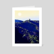 The cube - Art Card by Tom Carlos