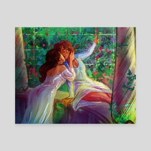 Princesses In Early Spring - Canvas by Terra Simone