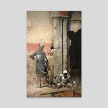 Constantinople, the day after - Acrylic by Jose Daniel Cabrera Peña